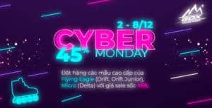 Cyber Monday sale off 45%